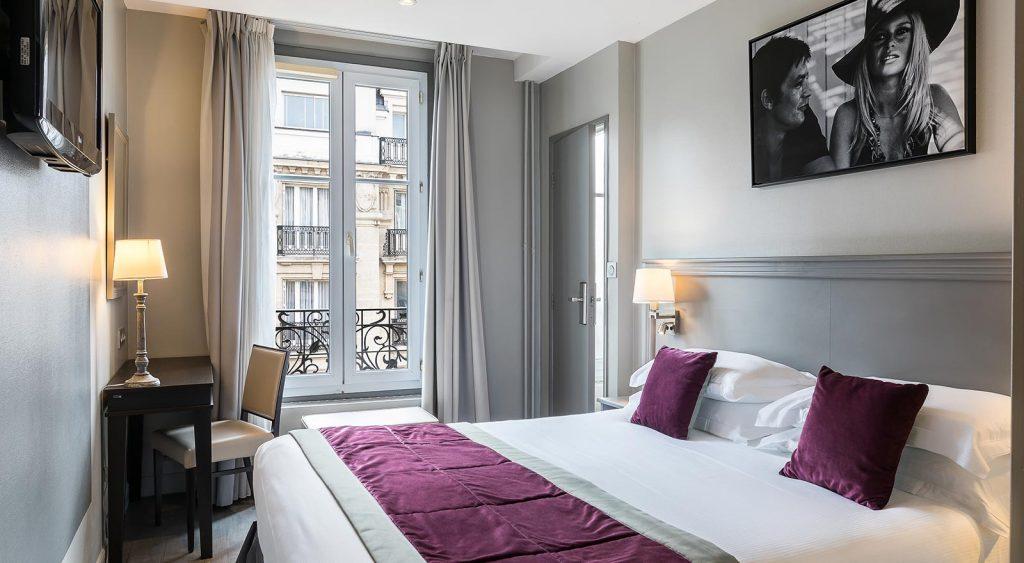 chambre classique Montcalm Hôtel Paris