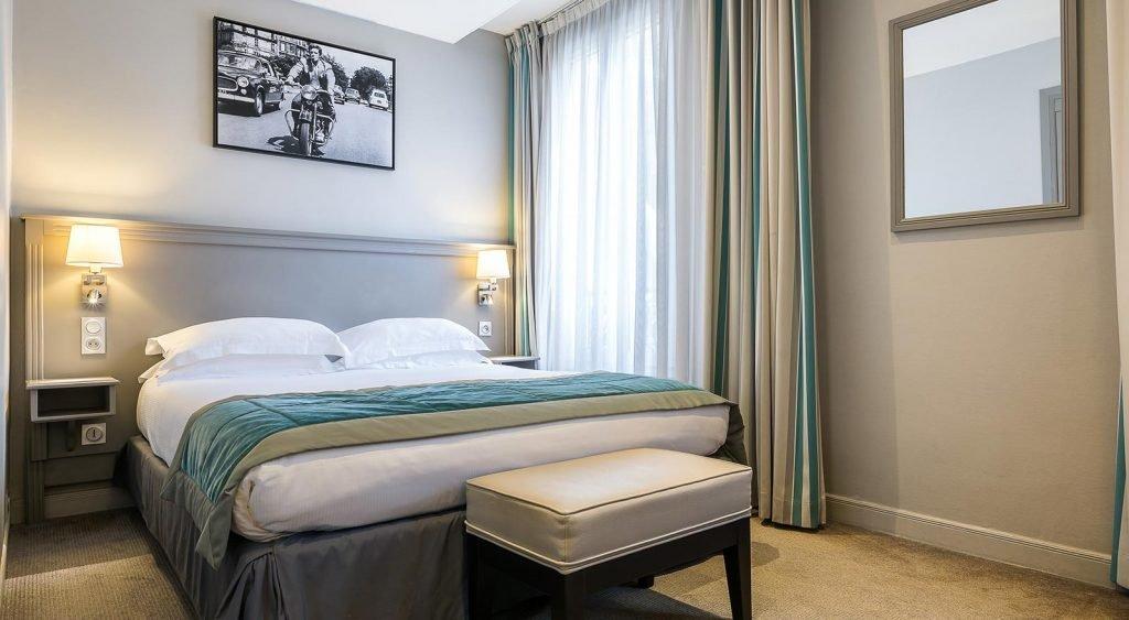 chambre classique vue jardin Montcalm Hôtel Paris