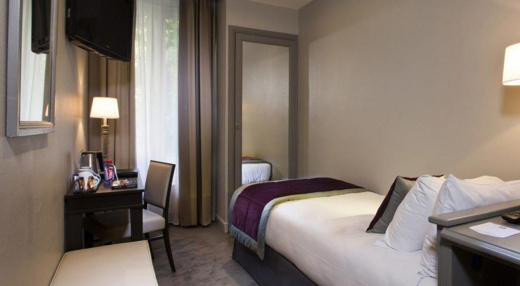 chambre simple Montcalm Hôtel Paris