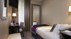 chambre simple Montcalm Hôtel