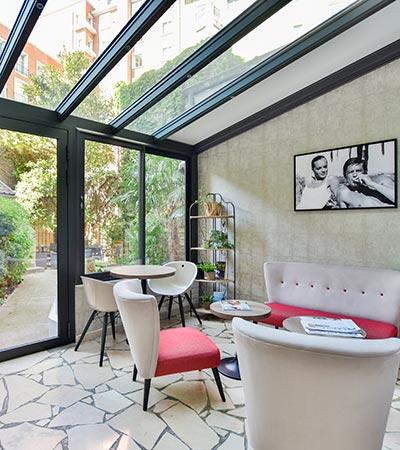 veranda montcalm hotel paris
